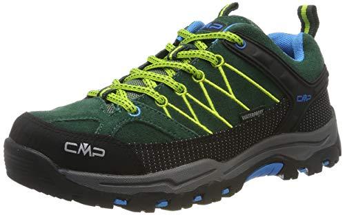 CMP Kids Rigel Low Shoes Wp Trekking-& Wanderhalbschuhe, Grün (Pino-Limegreen 04fd), 39 EU