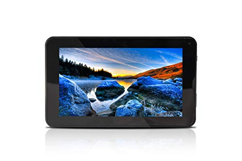 Fusion5 7' Android 9.0 Pie Tablet PC - (Google Certified, 2GB RAM, 32GB Storage, WiFi, BT, 1024x600 IPS Screen, Dual Cameras, T099 Model, Android Touch Screen Tablet PC)