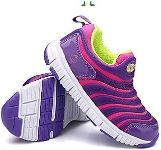 LGYD Non-slip Soft Bottom Children Sports Casual Shoes (Color:Dark Blue Size:25) (Color : Purple, Size : 34)