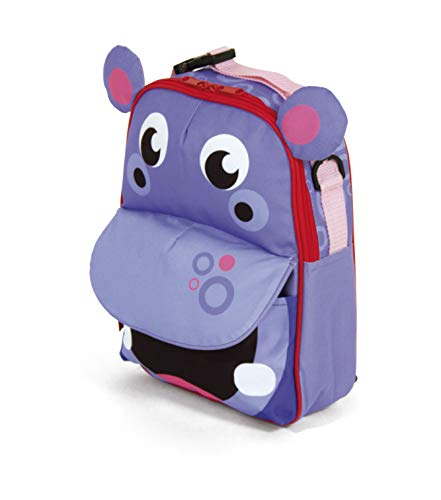Fisher-Price Sac à dos Hippopotame 3D Multicolore