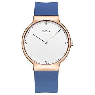 Relojes para mujer, Lady Simple Fashion Design Casual Business Dress Reloj de pulsera de silicona analógico de cuarzo