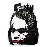 NiYoung Camping Outdoors Running Backpack Daypack Lightweight Polyester Anti-Theft Multipurpose Backpack Big Capacity Bookbag, Clown Joker. Pop Art