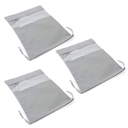 Mothinessto Bolsa de Almacenamiento con cordón Bolsa de Almacenamiento de Zapatos Tela no Tejida Transpirable para Almacenamiento en el hogar(#1)