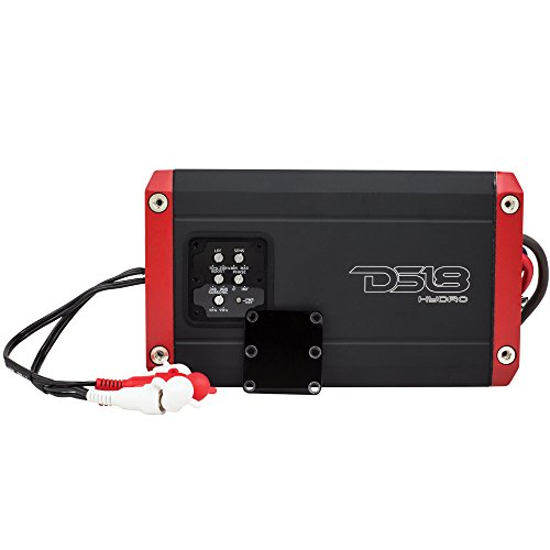 DS18 Hydro NXL600.1D Next Level Monoblock Digital Marine 1-Channel 1200 Watts Max Monoblock Amplifier - All Elements for All Applications