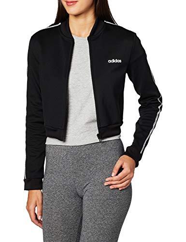 adidas W C90 Tracktop Jacke für Damen M schwarz / weiß
