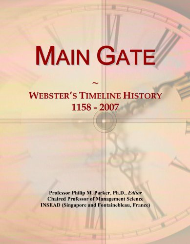 Main Gate: Webster's Timeline History, 1158 - 2007