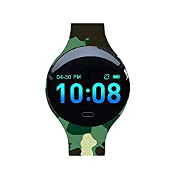 Fitness Tracker for Kids Women,IP67 Waterproof with Blood Pressure Heart Rate Sleep Monitor,smart watch with Vibration Alarm Clock/Calorie Burned/Distance/Alarm/Stopwatch for Kids Women Men (color 1)