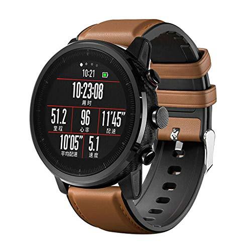 NA. Correa de silicona para reloj Hua-wei Watch-GT Active/Honor Magic/Sam-sung Gala-xy Watch