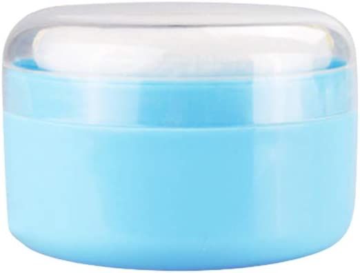 SUPVOX Excellence Talcum Powder Sale item Puff Box Container P with Empty Body