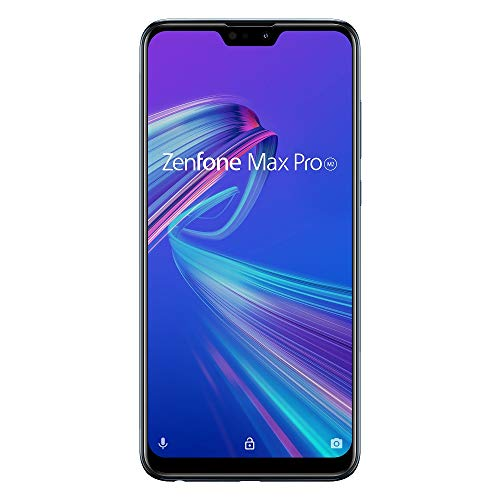 ASUS Zenfone Max Pro M2 ミッドナイトブルー 【日本正規代理店品】 ZB631KL-BL64S4/A