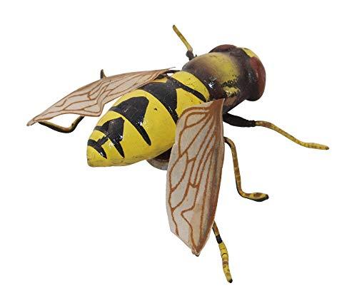 Imán: flotante mosca Amarillo–Insectos magnético, muy naturgetreuervdekomagnet, magnético, colectora Frigorífico magnético, día...