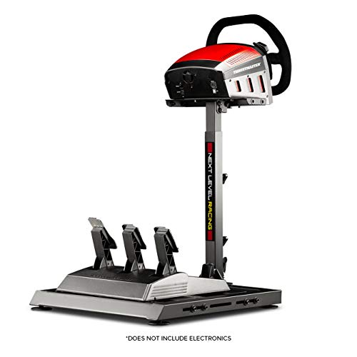 Next Level Racing Wheel Stand Racer, steering wheel stand and pedals, Nero