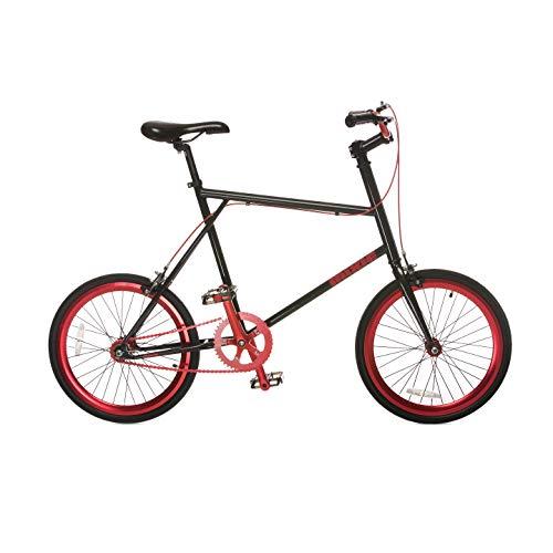 Fydelity MIXIE Mixed Gear Fixie Vélo Croisé – Mars ღ ღ Gear/Flip Flop Hub/Coloré/Hip Hop Bicycle/BMX/Petites Roues Compactes/Pliables/Style