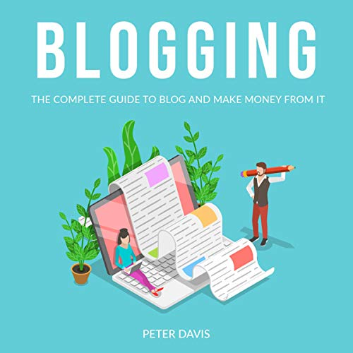 Blogging Audiobook By Peter Davis cover art