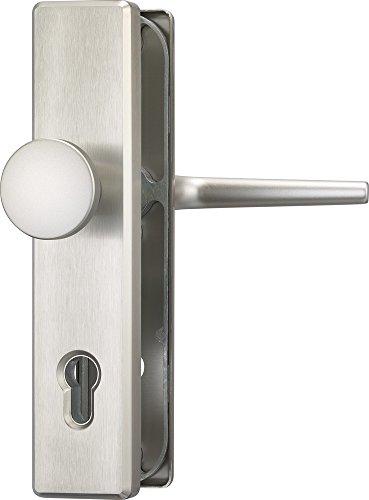 ABUS Tür-Schutzbeschlag HLS214 F9, edelstahl, 31698