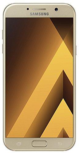 Samsung Galaxy A3 (2017) - Smartphone (pantalla Super AMOLED táctil capacitiva de 4.7 pulgadas, 16GB, Android, A320F NFC LTE) color dorado