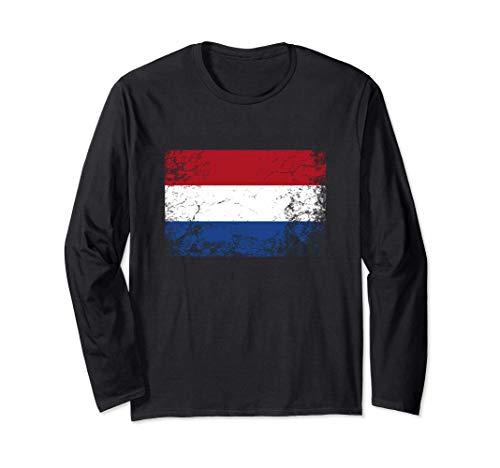 Bandera holandesa - Netherlands Flag Manga Larga