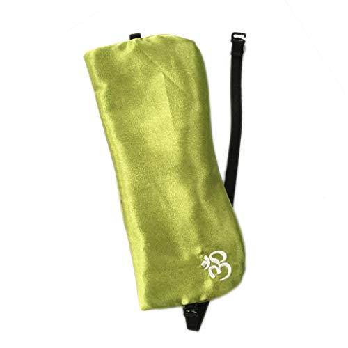 lafyHo De Seda-como la semilla de la Almohadilla de Ojos Lavanda Cassia Relajante Eye Patch extraíble Bolsa Accesorios del Yoga