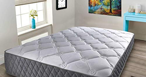 Mattress-Haven Pocket Spring Quilted 2000 3000 Memory Foam Topped Mattress3FT - Single