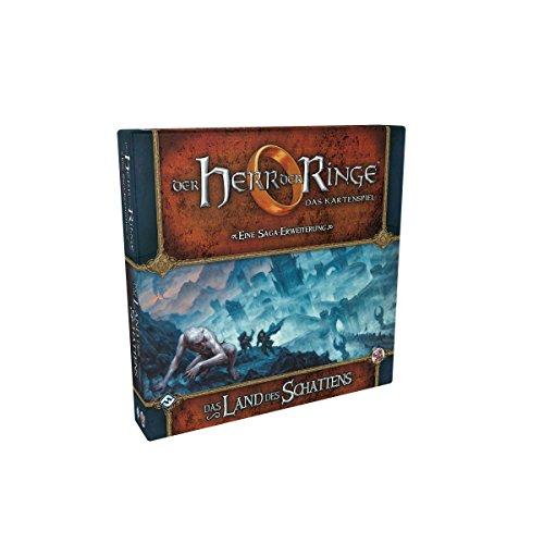 Fantasy Flight Games FFGD2639 Herr der Ringe: LCG-Land des Schattens Saga-Erweiterung DEUTSCH Kartenspiel