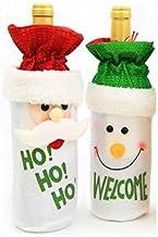 Christmas Decoration Wine Bottle Bag Santa Snowman Wine Bottle Set