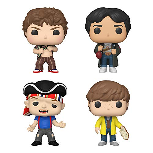 Funko Pop! The Goonies Set of 4: Sloth, Chunk, Mikey w/Map and Data w/Glove Punch