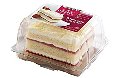 The Original Cakerie Simply Original, Strawberry Shortcake, 19.1 oz (Frozen)