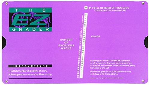 EZ Grader EZ-5703PURPLE EZ Grader Violet Score jusqu'- 95 Questions