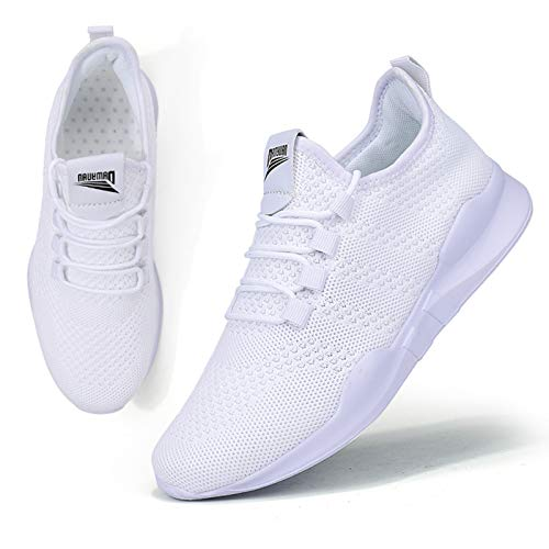BUBUDENG Zapatillas de Running para Mujer Casual Tenis Asfalto Zapatos Deporte Fitness...
