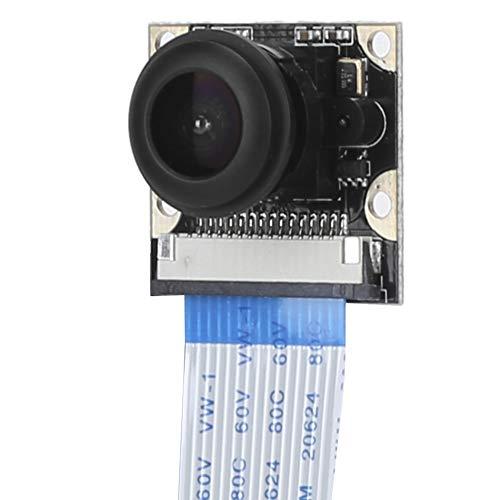 Night Vision Camara, 1080P 5MP Mini Portable 130° Fish Eye Camera Module for Raspberry pi 4B/3B+/3B/2B Supply for Home Security/Night Scene Shooting