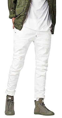 G-Star Raw 5620 Elwood 3D Slim Jeans in 3d Aged Light Restored 65 -  Weiß -  34W / 32L
