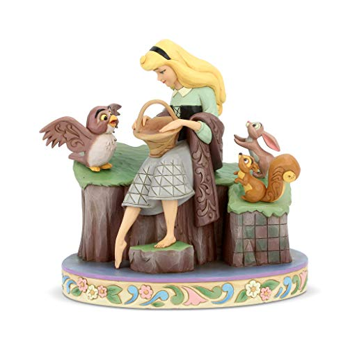 Disney Tradition La Bella Addormentata nel Bosco 60 Anniversario Figurina, Resina, Multicolore, 12 x 12 x 25 cm