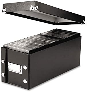Snap-N-Store, SNS01521, Media Storage Box, Holds 60 Slim/30 Standard Cases, 2/Pack, Sold As 1 Pack