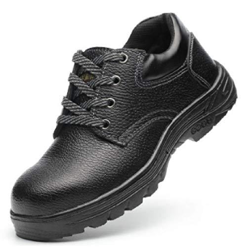 [le ciel] 安全靴 鋼鉄先芯 鉄入り 釘踏み抜き防止 靴 耐油 防滑 スニーカー シューズ 新カラー (24.5)