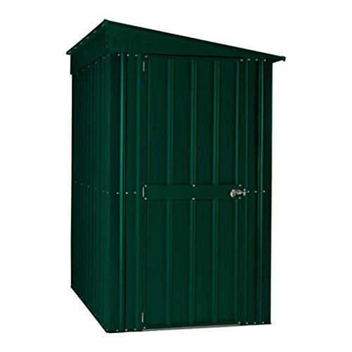Global 46 SOLID HG Lotus Lean-to Shed, Green, 4x6