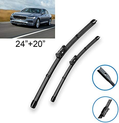 Windshield Wipers for Volvo V40 Wagon 1995-2004 All Season Wiper Blades car Replacement Parts