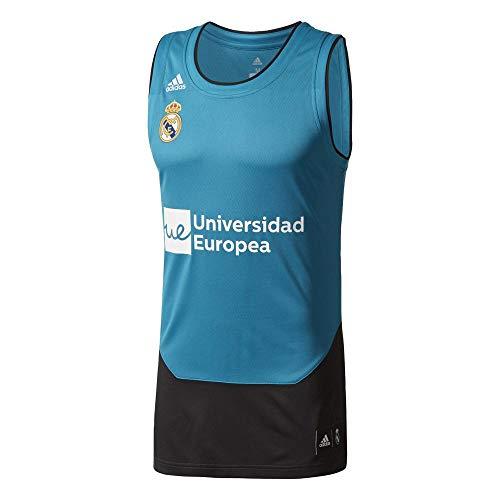 adidas RM Replica Camiseta Línea Real Madrid FC, Hombre, Azul (azuint), 5XL4