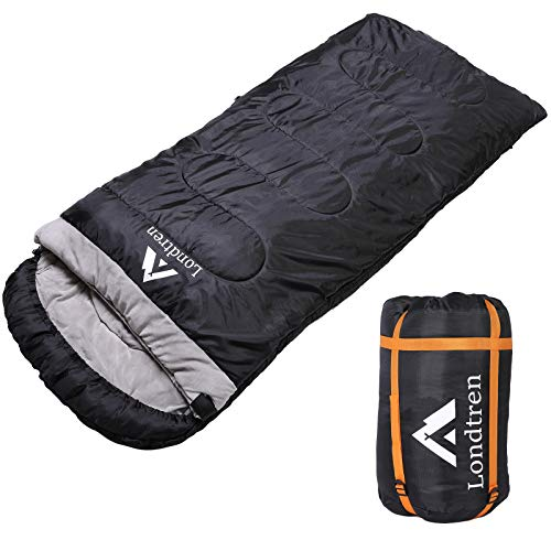 Large Sleeping Bag Big Tall Sleeping Bag for Adults Camping Winter Below Zero 20 15 10 0 Degree XXL Sleeping Bag Gifts for Man Woman