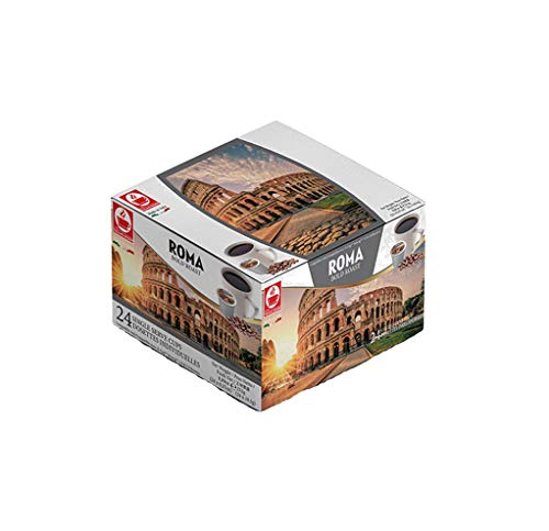 48 Keurig Compatible Pods, K-Cup: Roma Bold Roast by Caffè Tiziano B