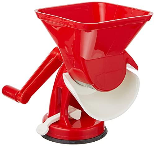 Duhalle 5403 - Macchina per passata di Pomodoro, in plastica, Colore: Rosso