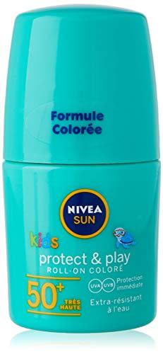 Nivea Crema Solar Roll-On 50 ml, Protección 50 Niños 50 ml
