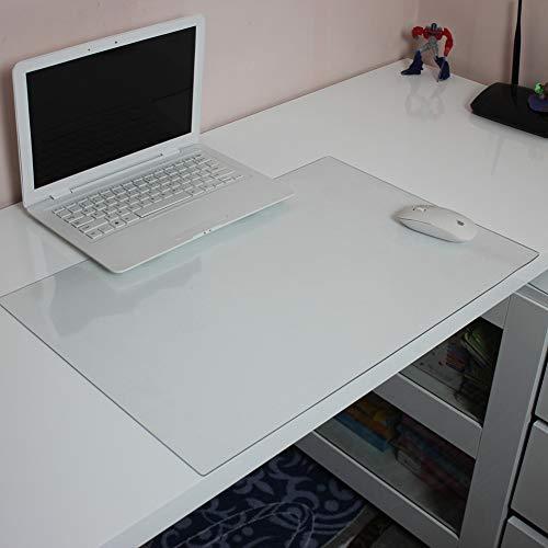 Claro Almohadilla De Escritorio Protector,impermeable Anti-slip Transparente Plástico Protector Tabla Extendido Alfombrilla De Ratón Gaming Desk Blotter Estera Escritura-1.3mm 40x60cm(15.7x23.6inch)