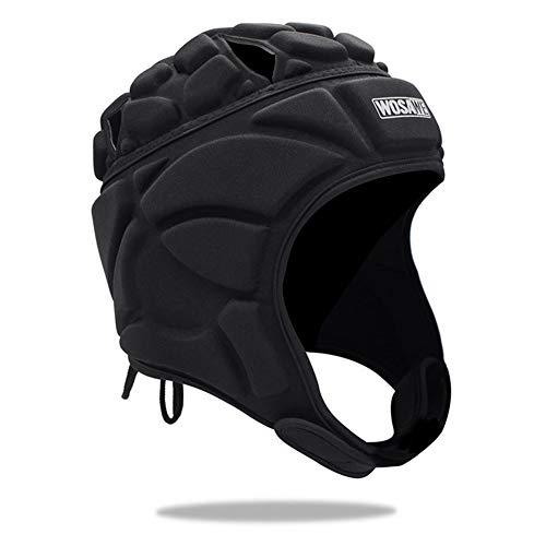 Corwar Softshell-Kopfschutz, Rugby-Kopfschutz mit Multi-Sport-Ausrüstung Polsterung Gepolsterter Helm - Reduziert den Aufprallschutz Kopf des Kindes Ohr Kinnkiefer - Größe für Jugendliche serviceable
