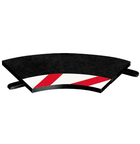 Carrera Exclusiv/ Evolution Innenrandstreifen Kurve 1/ 60° 3 Stück, Endstücke 2 Stück