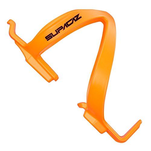 Supacaz Fly Cage Poly Porte bidon vélo, VTT Mixte Adulte, Neon Orange, FR Unique Fabricant : Taille One sizeque