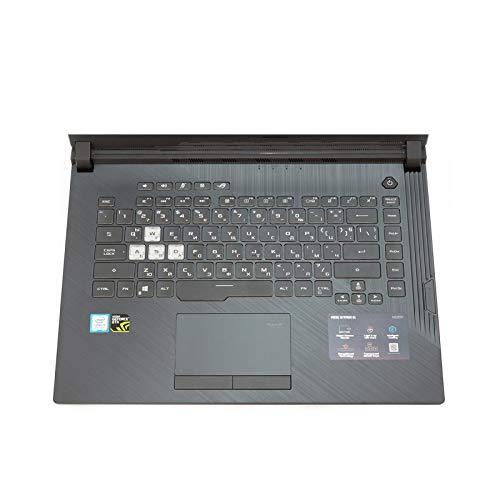 Keyboard cover - Carcasa protectora de teclado para ASUS Rog Strix G Hero III Scar 3 GL531 GL531GV G531GT G531G GU GD de 15,6 pulgadas, silicona TPU suave