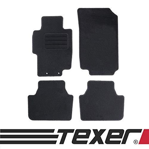 CARMAT TEXER Textil Fußmatten Passend für Honda Accord VII Bj. 2002-2008 Basic