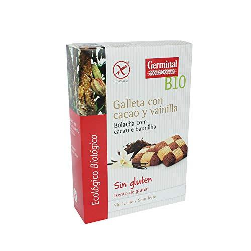 Galletas de cacao y vainilla bio sin gluten - Germinal - 250g