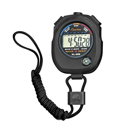 Jpc créations Chronomètre Digital Noir