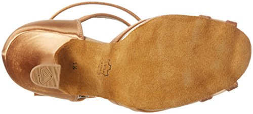 Diamant Damen Tanzschuhe 035-108-087 Standard & Latein, Beige (Bronze), 38 2/3 EU (5.5 UK) - 4